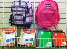 It's that Back-to-School feeling at the Goodwill Tulsa Broken Arrow store.