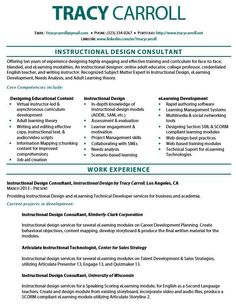 Resume interior design branding pinterest resume for Sample cover letter for instructional designer