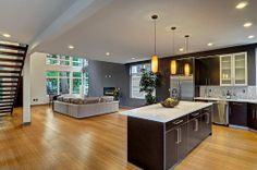 Contemporary Great Room - Come find more on Zillow Digs!