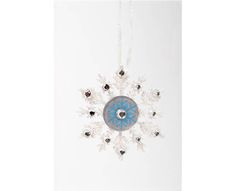 Plaid® Sparkly Snowflake #ornaments #craft #christmas