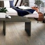 """Brand: Kährs Wood Floor Model: 151N9MEKFUKW Range: Kährs Original Collection: Bayside Collection Color: Oak Fundy Design: 1-strip Surface Treatment: Matte finish Refining Treatment: Microbevelled 4-sided, Brushed Grading: Country Hardness (Brinell value): 3.7 Surface layer: 1/8"""" (3.5 mm) Core Material: Spruce/Pine Joint System: Woodloc 5S"""