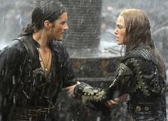 William Turner and Elizabeth Swann (Pirates of the Caribbean)
