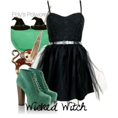 """Wicked Witch"" by polyspolyvore on Polyvore"