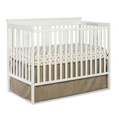 "Stork Craft Mission Ridge Fixed Side Convertible Crib - White - Storkcraft  - Babies""R""Us"