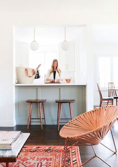 Sherman Samuel and her husband, Rupert, remodeled their Los Angeles home top to bottom, infusing the space with a serene, modern-glam aesthetic.