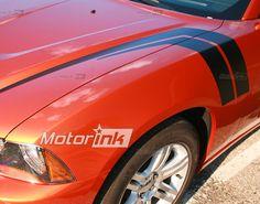 2011 Dodge Charger Hood Fender Harsh Marks Stripes Decal 3M 2012 Motorink | eBay