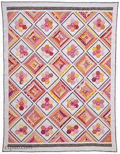 HHexa-Go-Go: English Paper Piecing • 16 Quilt Projects by Tacha Bruecherexa-Go-Go