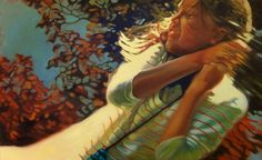 """Summer Life, 36"""" X 60"""", oil on canvas, original art is available."""