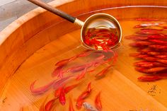 【TBT】Japanese artist paints breathtakingly lifelike 3-D goldfish using layers ofresin
