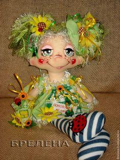 Кукла домовушка-желанница Весёлый Подсолнушек. - кукла,текстильная кукла
