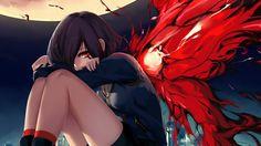 Touka Kirishima Kagune Anime Girl Tokyo Ghoul 1366x768