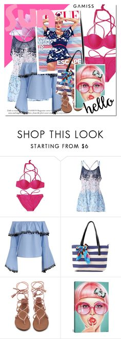 """GAMISS.com"" by vict0ria ❤ liked on Polyvore featuring iCanvas and gamiss"