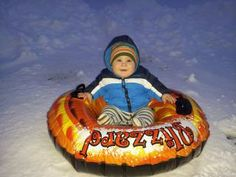 Danielle Lambert, Mount Crawford  Aiden taking his first trip down the snowy hill. Your never to young to enjoy a little snow time. #WHSVsnow
