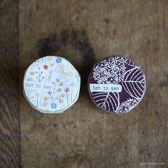 Ten-to-sen Washi Tape 3 Roll Set {Butterfly in Bush} | UGUiSU Online Store