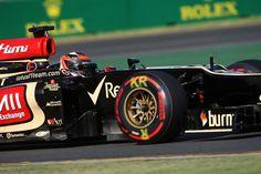 Australian GP 2013 - Melbourne - Practice Session - Kimi Raikkonen with OZ Racing wheels #OZRACING