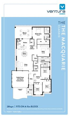 The Macquarie Display Home | Ventura Homes