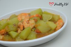 Ginisang Sayote with Shrimps
