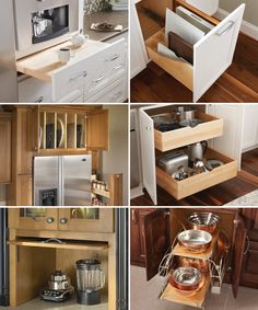 kitchen cabinet organization---bring us your ideas and we will make it work so your kitchen is 100% custom and efficient for what YOU need!