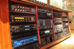 """Strongroom 3 OUtboard Rack ... """"Mmm .. Think they need more outboard""""."""
