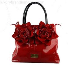 Red Handbag #TurnItUpWithTONE