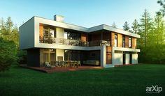 Roman-house: архитектура, 2 эт | 6м, жилье, минимализм, 300 - 500 м2, фасад - кирпич, коттедж, особняк, фасад - сайдинг #architecture #2fl_6m #housing #minimalism #300_500m2 #facade_brick #cottage #mansion #facade_siding
