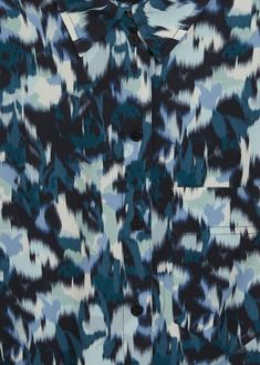 Discover the latest trends in Mango fashion, footwear and accessories. Blue Abstract, Abstract Print, Abstract Pattern, Mango Fashion, Manga, Digital Pattern, Portfolio Design, Surface Design, Print Patterns