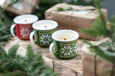 christmas soy candles