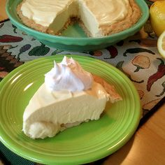 Lemonade Pie (No Bake) Recipe