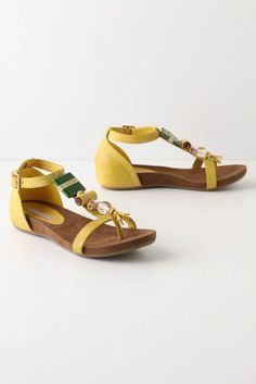 Anthropologie Strung Packages Sandals