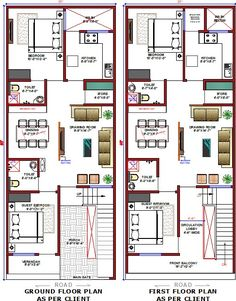 Mini House Plans, 2bhk House Plan, Unique House Plans, Indian House Plans, Beautiful House Plans, Model House Plan, House Layout Plans, Unique House Design, House Front Design