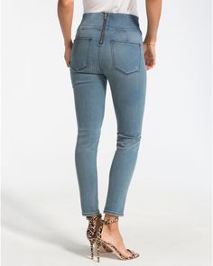 ba311162387038 SPANX The Signature Ankle SKINNY Denim Jeans in Hunter 50002r Women 27 for  sale online | eBay