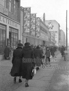 Wilmersdorfer Straße in Berlin, 1953