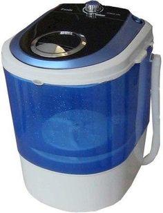 Bonus Package Panda Small Mini Portable Compact Washer Washing Machine 5.5lbs Capacity