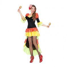 Disfraz de Rumbera Salsa para mujer #disfraces #carnaval #novedades2017