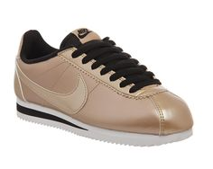 Buy Metallic Bronze Black Leather W Nike Classic Cortez Og from OFFICE.co.uk.