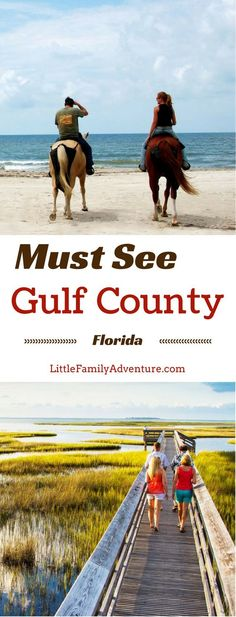 Must See Travel Spots: Gulf County, FL - Florida has more than just theme parks and thrill rides. Rediscover the nature beauty of the Gulf Coast here. You can explore over 244 miles of coastlines, pristine beaches, dive artificial reefs and dive sites, si