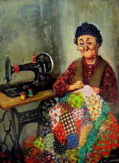 Artist Lado Tevdoradze.