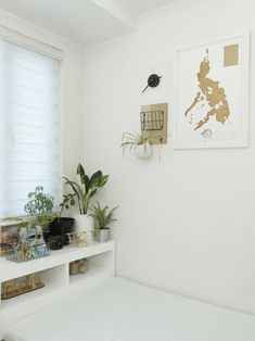 The owner took inspiration from Scandinavian design to personalize his all-white condo in Quezon City Studio Type Condo, Small Studio Apartment Design, Studio Apartment Layout, Small House Interior Design, Interior Design Website, Condo Design, Home Room Design, Tiny Studio, Small Condo Decorating