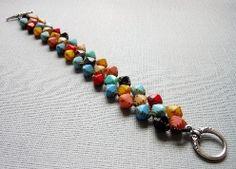 Four Corners Bracelet. Join http://www.jewelrymakingprofessormembers.com/public/department14.cfm?affID=janecgy  to watch more video tuorials