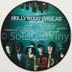 Hollywood Undead - Swan Songs Vinyl LP - Picture Disc — available now in the SoldOutVinyl.com store!