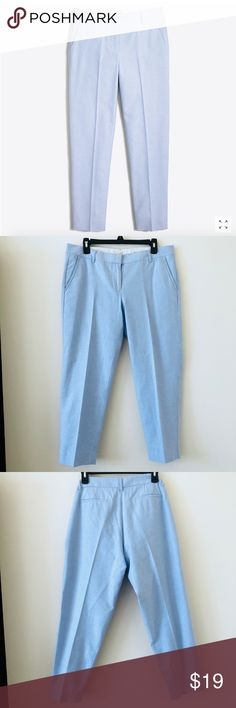 Trousers & Shorts Special Section ***h&m Baby Boy Blue Checked Cotton Chino Trousers 6-9 Months Excellent!***