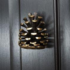 Door Knockers Unique, Brass Door Knocker, Polished Brass, Solid Brass, Front Door Accessories, Feng Shui Front Door, Yellow Front Doors, Vintage Door Knobs, Unique Doors