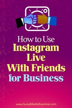 Learn how to use Instagram's Live With Friends video feature to bring a guest into your Stories broadcast.