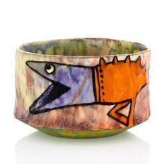 """Alien Cup"" by En Iwamura. Available at ClayAkar. Alien, Japanese, Ceramics, Artist, Clay, Ceramic Artists"