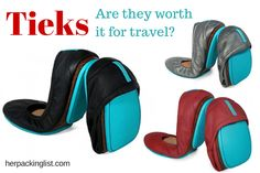 Fold-up Ballet Flats: An Answer for Female Backpackers Tieks Fold-up Ballet Flats: An Answer for Female Backpackers?Tieks Fold-up Ballet Flats: An Answer for Female Backpackers? Her Packing List, Packing List For Travel, Travelling Tips, Tieks Ballet Flats, Travel Shoes, Travel Clothing, Expensive Shoes, Folded Up, Hiking Shoes
