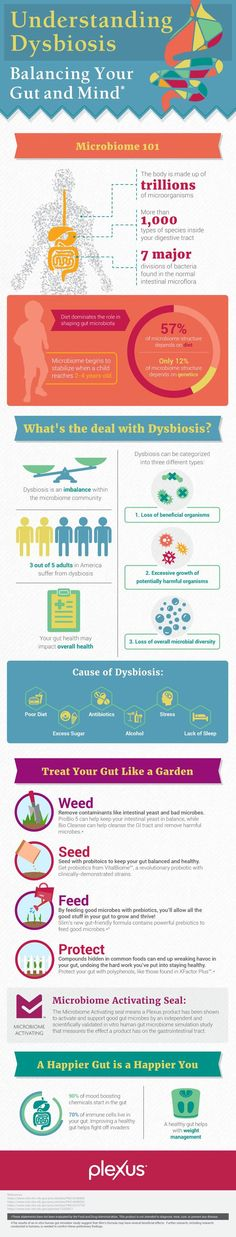 Gut dysbiosis is a state of imbalance in your microbiome. 60% of Americans are experiencing dysbiosis right this second—impacting their overall health.