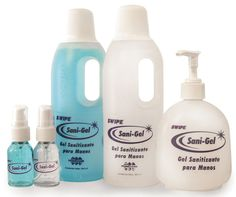 Sani-Gel 0.5 L >> Gel Sanitizante para manos, biodegradable.    DESINFECTA 100% SUS MANOS SIN ENJUAGAR    Las deja suaves y con un agradable aroma. Para llevar en la bolsa, en el carro, en la mochila, de viaje, al campo, etc.    Aromas: Bubble Gum  y  Aloe Vera