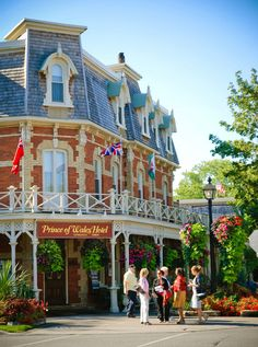 Niagara on the Lake - Canada  The atmosphere is excelent