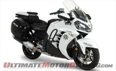 Kawasaki Recalls 2012-2013 Concours 14 Police Motorcycles