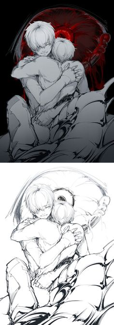 Kaneki Ken     Tokyo Ghoul Fan Art by 夜夜袭魔 on Tumblr